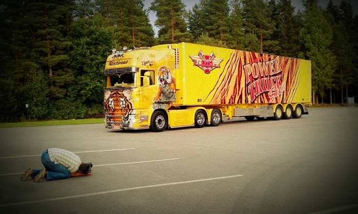 Scania Tiger Trailer
